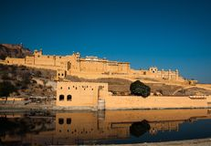 Amer Fort, Marwar, Rajasthan. Amer Fort built in 1592, along with five other forts of Rajasthan, was declared a UNESCO World Heritage Site as part of the group Royalty Free Stock Photography