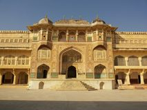 Amer Fort Inside, Amer, Jaipur Photographie stock