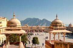Amer Fort, Jaipur Stock Images
