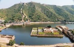 AMER fort (JAIPUR) Obraz Stock