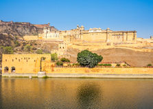 Amer Fort in Jaipur Stock Images