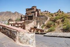 Amer Fort,Jaipur  Municipal Corporation. Amer Fort,Jaipur  Municipal Corporation, was a city of the Rajasthan state, India Royalty Free Stock Photo