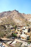 Amer Fort,Jaipur Municipal Corporation, was a city of the Rajasthan state, India. royalty free stock photo