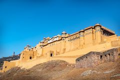 Amer Fort in Jaipur, Rajasthan, India. Royalty Free Stock Photography