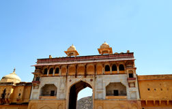 Amer fort landscape, amer town, outskirt Jaipur Rajasthan India Stock Image