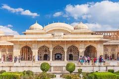 Amer Fort près de Jaipur Photos libres de droits