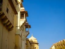 Amer Fort près de Jaipur, Rajahstan dans l'Inde Photo stock