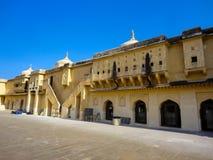 Amer Fort près de Jaipur, Rajahstan dans l'Inde Photo libre de droits