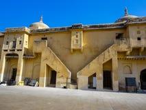 Amer Fort près de Jaipur, Rajahstan dans l'Inde Photographie stock libre de droits