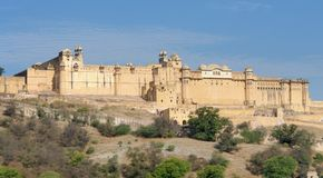 Amer Fort Royalty Free Stock Photos