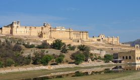 Amer Fort Royalty Free Stock Images