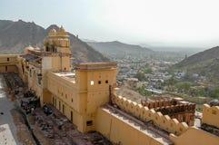 Amer-Fort in Rajasthan, Indien Stockbild