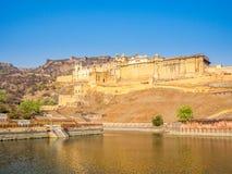 Amer fort w Jaipur fotografia stock