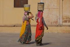 Amer, India - November 2011 Stock Foto's