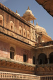 Amer palace architectur Jaipur, India. Royalty Free Stock Photos