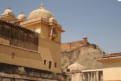Amer palace, Jaipur, India. Royalty Free Stock Photos