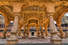 Amer Palace nära Jaipur, Rajasthan Fotografering för Bildbyråer