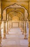 Amer Palace perto de Jaipur, Rajasthan Imagem de Stock
