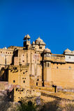 Amer Palace perto de Jaipur, Rajasthan Imagens de Stock