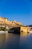 Amer Palace près de Jaipur, Ràjasthàn Image libre de droits