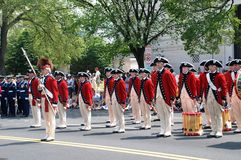 America's 2008 Independence Day parade. Royalty Free Stock Photography