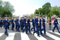 Americaâs défilé de 2008 Jours de la Déclaration d'Indépendance. Images libres de droits