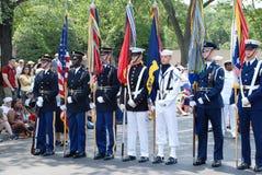 Americaâs défilé de 2008 Jours de la Déclaration d'Indépendance. Photo libre de droits