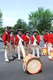 Americaâs una parata di 2008 feste dell'indipendenza. fotografie stock libere da diritti