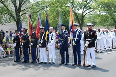 Americaâs una parata di 2008 feste dell'indipendenza. fotografie stock