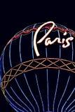 LasVegas Boulevard ,Paris Casino and Hotel Royalty Free Stock Images