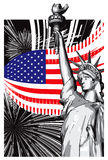 America royalty free illustration