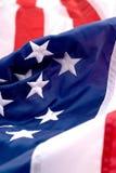 America. Closeup of an American flag stock photos