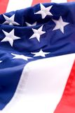 America. Closeup of an American flags stock photography
