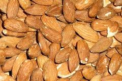 America almond nut. The background of America almond nut Stock Photography