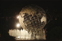 1964 New York Worlds Fair Unisphere in Flushing Me Stock Image