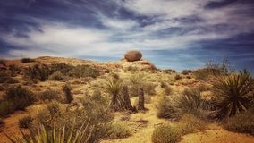 America, Arid, Blue Royalty Free Stock Images