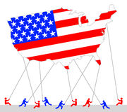 America balloon Stock Image