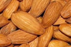 America big almond. The close-up of America big almond Royalty Free Stock Image