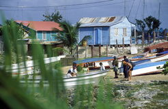 AMERICA CARIBBIAN SEA DOMINICAN REPUBLIC Royalty Free Stock Photography