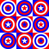 America colors illustration Royalty Free Stock Photos