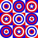 America colors illustration Stock Photos