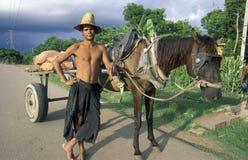 AMERICA CUBA HOLGUIN Stock Images