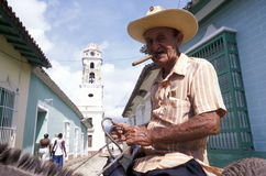 AMERICA CUBA TRINIDAD Royalty Free Stock Photo