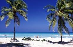 AMERICA CUBA VARADERO BEACH Royalty Free Stock Photo