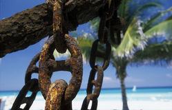 AMERICA CUBA VARADERO BEACH Stock Images