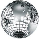 America do Norte no metal Imagem de Stock