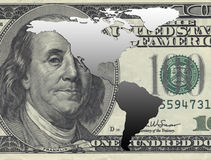 America and dollar Stock Photos