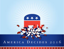 America 2016 elections Stock Photography