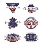America emblem Royalty Free Stock Images