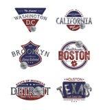 America emblem Royalty Free Stock Images